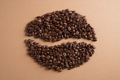 Coffeebean - Kaffebohne Royalty Free Stock Photos