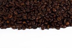 coffeebeans знамени Стоковые Фото