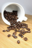 Coffeebeans Lizenzfreie Stockfotos