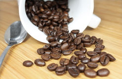 coffeebeans Στοκ φωτογραφία με δικαίωμα ελεύθερης χρήσης