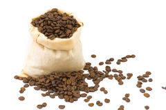 Coffeebeans Arkivfoton