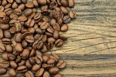 Coffeebeans asados Fotos de archivo libres de regalías