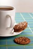 Coffeebreak avec des biscuits image stock