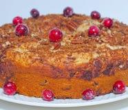 Coffeecake del arándano Fotografía de archivo libre de regalías