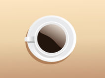 coffeecup ładny Zdjęcia Royalty Free
