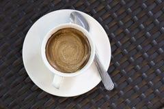 Coffeecup met Koffie Royalty-vrije Stock Afbeeldingen