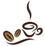 Coffeecup stilizzato Immagini Stock