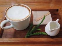Coffeecupkop Stock Afbeelding