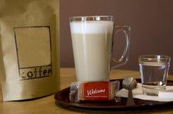 Coffeee γάλακτος Στοκ εικόνες με δικαίωμα ελεύθερης χρήσης