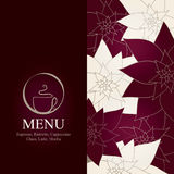 Coffeehouse menu. Menu for restaurant, cafe, bar, coffeehouse Royalty Free Stock Image