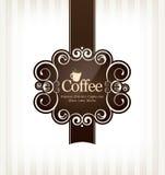 Coffeehouse menu design Royalty Free Stock Image