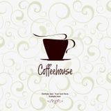 coffeehouse pojęcia menu Fotografia Royalty Free