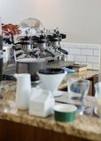 Coffeemaker In Coffeeshop Stock Image