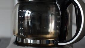 Coffeemaker timelapse Stock Image