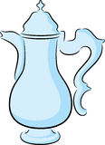 Coffeepot. Illustration of a cute coffeepot, isolated Royalty Free Stock Images