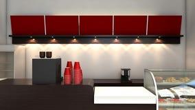 CoffeeShop Royalty-vrije Stock Afbeeldingen