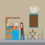 coffeeshop Стоковое Изображение