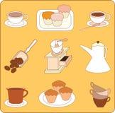 coffeeshop Arkivbilder