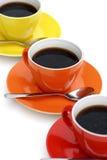 coffeetime arkivbild