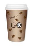 CoffeeToGo Иллюстрация штока
