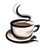 Coffeillustratie Stock Foto
