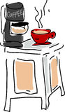 coffejpg stock illustrationer