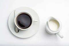 coffekoppespresso Fotografering för Bildbyråer