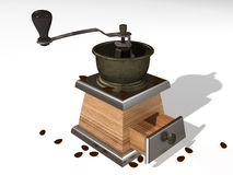 coffemaskin Vektor Illustrationer