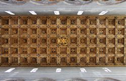 Coffered ceiling Stock Images
