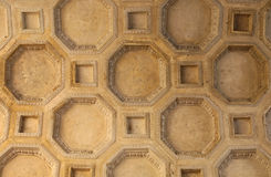 Coffered sufit zdjęcia stock