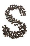 coffeybokstav s royaltyfria foton