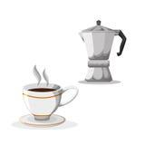 Cofffee icon. drink concept.  Flat illiustration Royalty Free Stock Photo