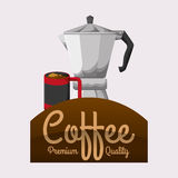 Cofffee icon. drink concept.  Flat illiustration , vector Royalty Free Stock Images