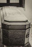 Coffin Royalty Free Stock Photo