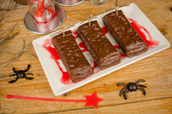 Coffin cake Stock Photography