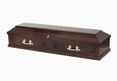 Coffin / Casket royalty free stock photos