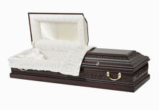 Coffin / Casket Royalty Free Stock Image