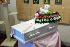Free Coffin For A Kid Royalty Free Stock Image - 25157736