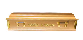 Coffin Royalty Free Stock Image