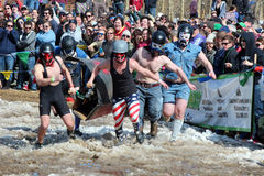 Coffin Race - Frozen Dead Guy Days Royalty Free Stock Images