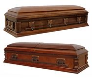 Coffins Royalty Free Stock Photos