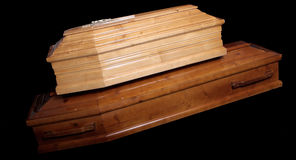Coffins Stock Photos