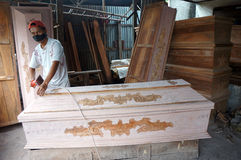 Coffins Stock Photos