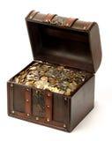Coffre d'argent Photographie stock libre de droits