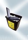 Coffre d'ordinateur portatif Photo stock
