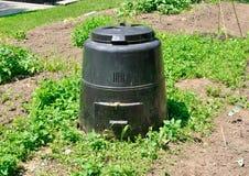 Coffre de compost image libre de droits