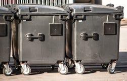 Coffre de déchets moderne Images stock