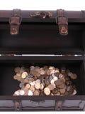 Coffre de trésor Photo stock