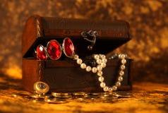 Coffre de trésor photos stock