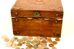 Coffre de trésor Image libre de droits